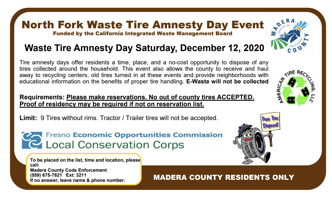 Tire Amnesty Flyer